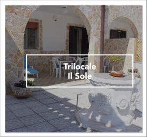 """Ingresso del trilocale in affitto """"Il Sole"""" vicino Lecce"""
